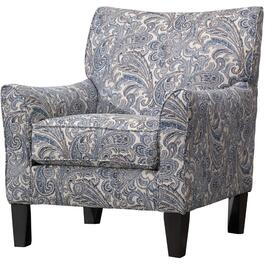Zulu Indigo Accent Chair thumb