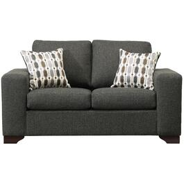 Tactile Grey Loveseat thumb