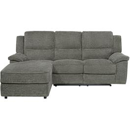 Briley Pewter Power Recliner Sofa/Chaise thumb