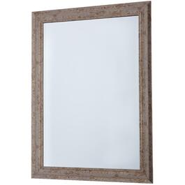 "29.5"" x 41.25"" Natura Grey Wash Wall Mirror thumb"