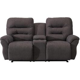 Nile Unity Space Saver Recliner Loveseat, with Console thumb