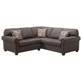 2 Piece Peppercorn Force Sofa Sectional thumb