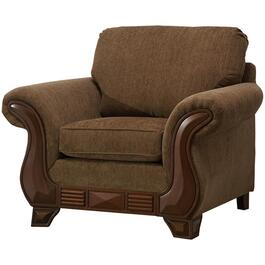 Khaki Brown Simplicity Chair thumb