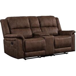 Poncho Mesquite Garland Recliner Loveseat, with Console thumb