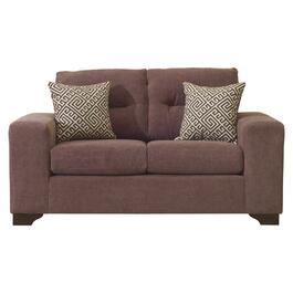 Mocha Heavenly Loveseat thumb