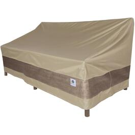 "70"" x 41"" x 35"" Brown Loveseat Cover thumb"