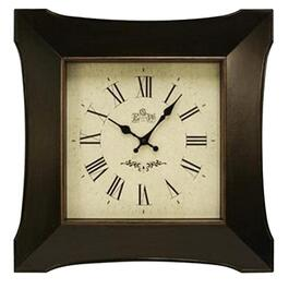"20"" Square Sculptured Wall Clock, Assorted Styles thumb"