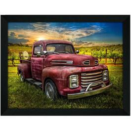 "14"" x 18"" Cool Old Ford Framed Wall Plaque thumb"