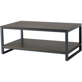 Metal/Wood Kellen Rectangular Cocktail Table thumb