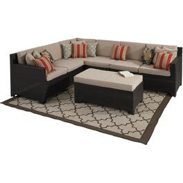 4 Piece Provence L-Shape Sectional Set, with Cushions thumb