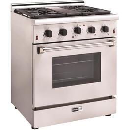 "30"" Stainless Steel Gas Range thumb"