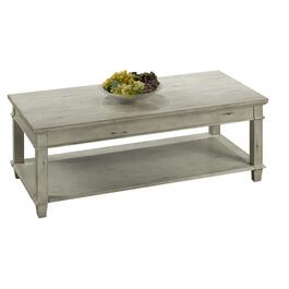 Grey Distressed Rectangular Cocktail Table thumb