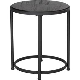 Grey Round End Table thumb