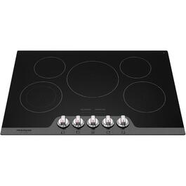 "30"" Black Built-In Electric Cooktop thumb"