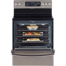 "30"" Slate Self Cleaning Smooth Top Electric Range thumb"