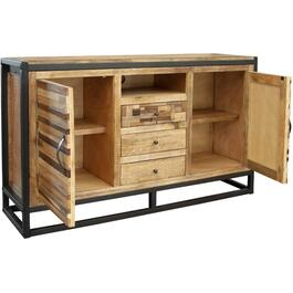 "17"" x 60"" x 37"" Sonoma Natural TV Console thumb"