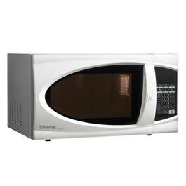 700 Watt .7 Cu.Ft. White Countertop Microwave Oven thumb