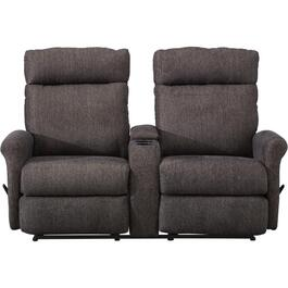 Slate Codie Space Saver Recliner Loveseat, with Console thumb