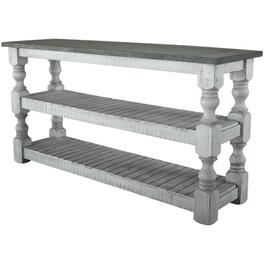 Stone Rectanular Sofa Table thumb
