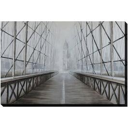 "40"" x 60"" In To The Fog Wall Plaque thumb"