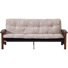 Wood Arm Mission Style Futon Frame thumb