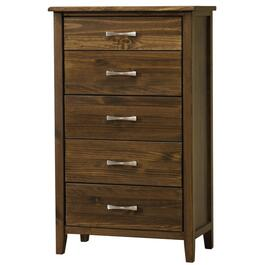 5 Drawer Scarlett Brindle Brown Chest thumb