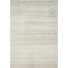 6' x 8' Boulevard Shiny White Area Rug thumb