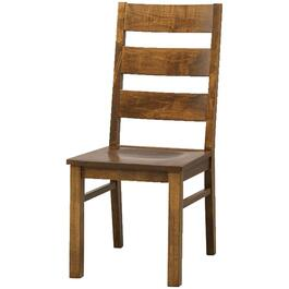 Ancaster Pecan Wood Side Chair thumb
