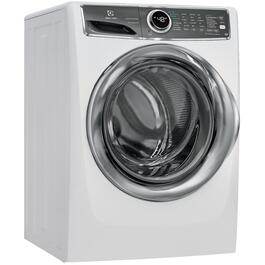 5.1 cu. ft. White Front Load Steam Washer thumb