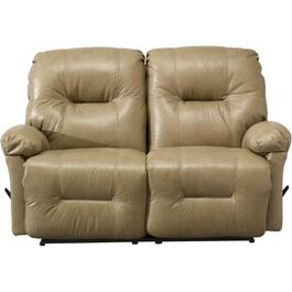 Zaynah Stone Leather Match Recliner Loveseat thumb