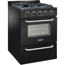 "24"" Black Classic Plus Convection Gas Range thumb"