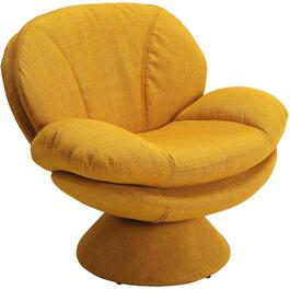 Rio Straw Pub Accent Swivel Chair thumb
