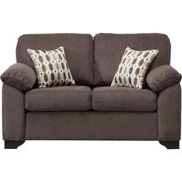 Charcoal Davos Loveseat thumb