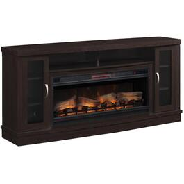 "70"" Hutchinson Espresso Electric Fireplace/TV Stand thumb"
