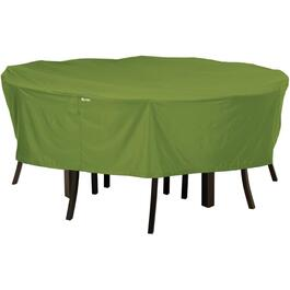 "70"" x 23"" Green Round Patio Set Cover thumb"