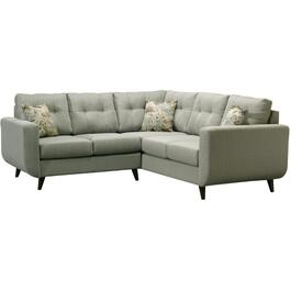 2 Piece Ottawa Green Sectional thumb
