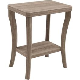 Driftwood Rectangular Chairside Table thumb