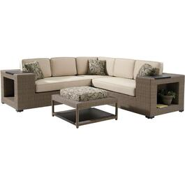 4 Piece Tuscany Sectional Set, with Cushions thumb
