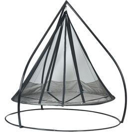 Hanging Saucer Hammock, with Stand thumb