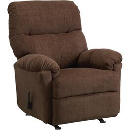 Chocolate Balmore Rocker Recliner thumb