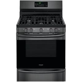 "30"" Black Stainless Steel Gas Range thumb"