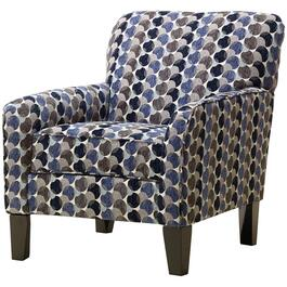 Bubbles Ink Print Accent Chair thumb