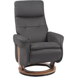 Charcoal Black Francesca Recliner thumb