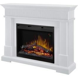 Jean White Electric Fireplace thumb