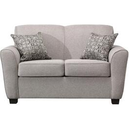 Grey Infinity Loveseat thumb