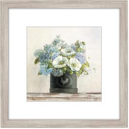 "20"" x 20"" Anemones in Hatbox Framed Plaque thumb"
