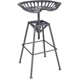 "24""- 30""Adjustable Bar Stool, with Tractor Seat thumb"