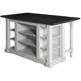 Bourbon County Kitchen Island, with Drop Leaf thumb