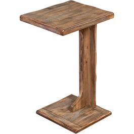 Weathered Brown Arizona Sofa Mate End Table thumb