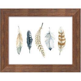 "16"" x 20"" Feather Collection 2 Framed Plaque thumb"